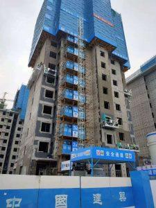 雄安新区出租吊篮公司容东片区中建八局项目